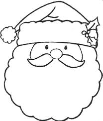 coloring pages merry christmas large size kids