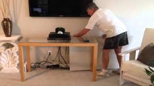 Messy Wires by Creative Way To Hide Your Tv Wires Youtube
