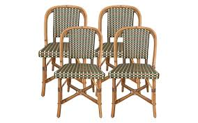 Vintage Bistro Chairs Viyet Designer Furniture Seating Vintage Rattan Bistro Chairs