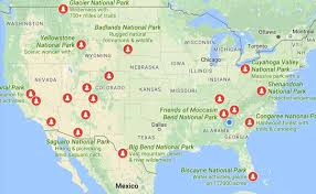 us map states national parks 20 reasons why europeans envy americans