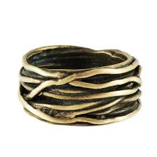 gold wire rings images Gold wire mens rings carpe diem jpg