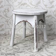 Shabby Chic Stools by Online Get Cheap Wooden Round Stool Aliexpress Com Alibaba Group