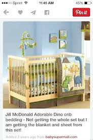 saur crib bedding adorable by just born ordered baby dinosaur