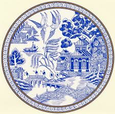 50 best blue willow china images on willow pattern