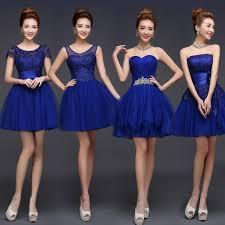 royal blue bridesmaid dresses royal blue bridesmaid dress mini lace dresses