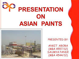 asian paints authorstream