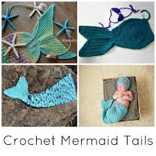 crochet mermaid tail blankets u0026 props for kids u0026 adults