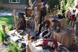 scary halloween lawn decorations
