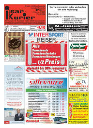 Esszimmerst Le Leder H Fner Isar Kurier Kw 05 2017 By Mark Ruof Issuu