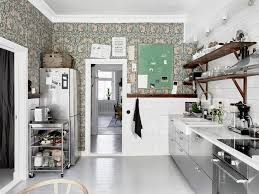 wallpaper home interior kitchen wallpaper 15 suggestions for any interior getting guide