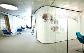Design Ideas For Office Partition Walls Concept Glass Office Walls Toronto Office Design