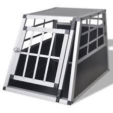 porta cani per auto vidaxl box trasporto cani trasportino per auto gabbia per animali