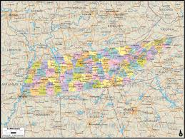 Map Tennessee Geoatlas City Maps Tennessee Map City Illustrator Fully