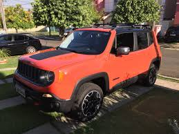 jeep open roof bars on a trailhawk with panoramic sunroof jeep renegade forum
