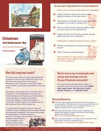 Chinatown Chicago Map by Anti Displacement U2014 Cbcac