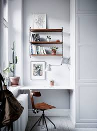 Small Desk With Shelves by Top 25 Best Small Workspace Ideas On Pinterest Small Office