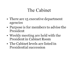 The Cabinet Members The Executive Branch The President U0027s Cabinet The Cabinet There Are