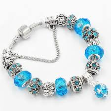 bead bracelet european images Stock glass charms beads bracelets pendant diy chain charms jpg