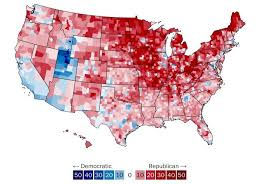 political us map donald see a map that shows how he won