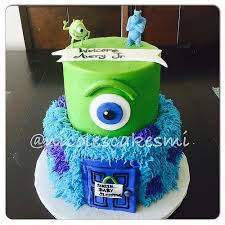 monsters inc baby shower cake monsters inc baby shower cake inc ba shower cake