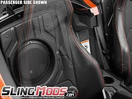 jl audi jl audio stealthbox driver passenger subwoofer enclosure for the
