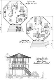 octagon home plans two story piling house plans topsider homes