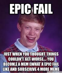 Epic Fail Meme - epic fail meme fresh out of the internet 2007 memes haha