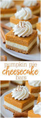 Pumpkin Cheesecake Bars Lil U0027 Luna