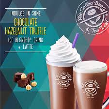 Coffee Bean Blended there s a new cbtl drink in town the chocolate hazelnut truffle