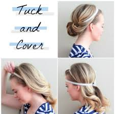 elastic hair band hairstyles musely