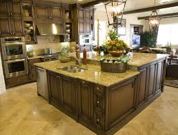 large kitchen designs with islands kitchen large kitchen island oak wood designs cabinets