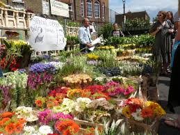 Best Flower Food The Very Best Food Markets In London Flower Market Columbia And