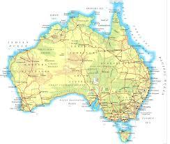 australia satellite map australia map and australia satellite images