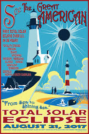 Wyoming travel posters images Sea to shining sea quot 2017 eclipse space art travel bureau