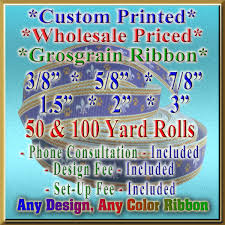 grosgrain ribbon by the yard wholesale custom grosgrain ribbon roll using online designer tool