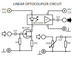 linear optocoupler circuit is an electronic device designed
