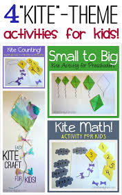 little family fun kite theme activities for kids