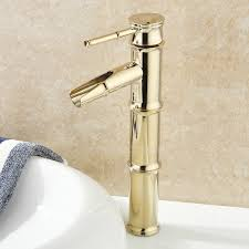 designer faucets bathroom designer bamboo shape polished brass bathroom sink faucets 72 99