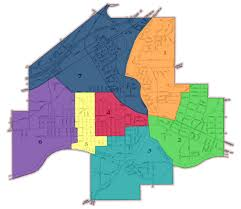 City Of Chicago Ward Map by Olean Common Council Ward Map