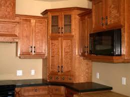 Vintage Wooden Spice Rack Corner Kitchen Cabinet Ideas Hardwood Floor White Laminated