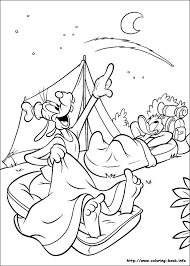 goofy coloring picture mickey mouse u0026 friends colouring pages