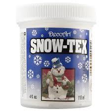 decoart snow tex