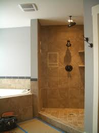 Small Bathroom Showers Ideas by Excellent Open Shower Bathroom Design Ideas Home Pinterest