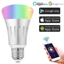 alexa controlled light bulbs wifi remote control led light bulb e27 for echo amazon alexa google