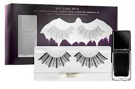 illamasqua paperself halloween lashes bat those lashes