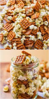 thanksgiving blessing mix crock pot maple pumpkin spice chex mix averie cooks