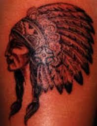 indian chief profile tattoo tattooimages biz