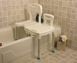 Toilet To Tub Sliding Transfer Bench Look Transfer Bench From Human Care Dana Douglas Mobiliexpert Com