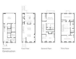 small narrow house plans small townhouse floor plans poradnikslubny info