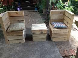 Outdoor Patio Pallet Furniture - how to build outdoor sectional patio furniture ebay